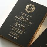 Aristocrat Wedding Invitation Design