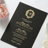Aristocrat Wedding Invitation Card Design