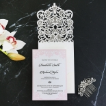 Baroque Pocket Invite Card Design