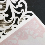 Baroque Pocket Wedding Invite