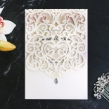 Baroque Pocket Invitation Card Design