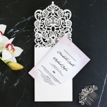 Baroque Pocket Wedding Card