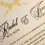 Black Doily Elegance Wedding Card