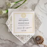 Blooming Charm Invitation Design
