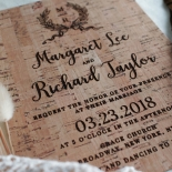 Chic Country Passion Wedding Invitation