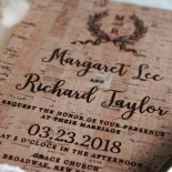 Chic Country Passion Invitation Design