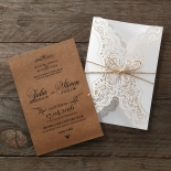 Country Glamour Invite Card Design