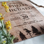 Delightful Forest Romance Invite