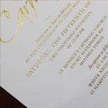Diamond Drapery Invite Design