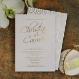 Diamond Drapery Wedding Invite Card Design