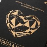 Digital Love Wedding Invite Design