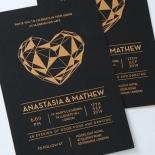 Digital Love Wedding Invitation Design