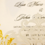 Divine Damask Invite Card Design