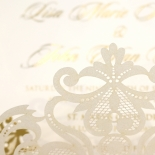 Divine Damask with Foil Invite