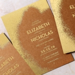 Dusted Glamour Invite Card Design