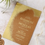 Dusted Glamour Invite