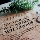 Enchanting Imprint Wedding Invitation Design