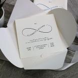 Eternal Simplicity Wedding Invite Design