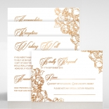 Flourishing Garden Frame Wedding Invitation