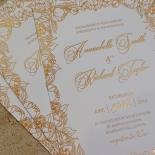 Flourishing Garden Frame Invitation Card