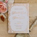Flourishing Garden Frame Invitation Design