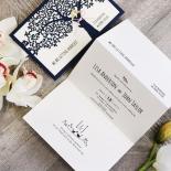 Forest Love Wedding Invitation Card Design