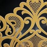 Golden Baroque Pocket Invite Card Design