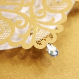 Golden Baroque Pocket with Foil Invitation Design
