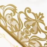 Golden Divine Damask Invitation Design