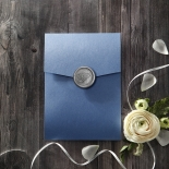 Graceful Wreath Pocket Invite
