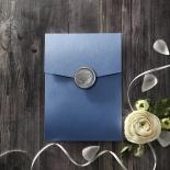 Graceful Wreath Pocket Invite