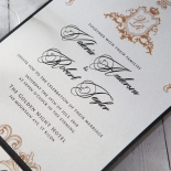 Imperial Pocket Wedding Invite