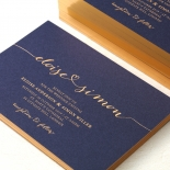 Infinity Wedding Invite Card