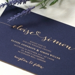 Infinity Wedding Invitation