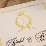 Ivory Doily Elegance Invite Design