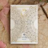 Ivory Doily Elegance Invitation