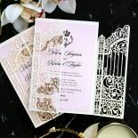 Ivory Victorian Gates Invite Design