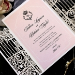 Ivory Victorian Gates Invitation Design
