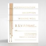 Luxe Intrigue Wedding Card Design