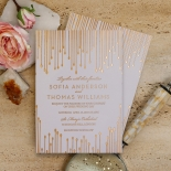 Luxe Intrigue Invite Card Design