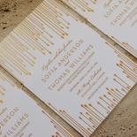 Luxe Intrigue Invitation Card Design