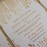 Luxe Intrigue Invitation Design