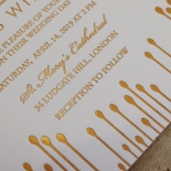 Luxe Intrigue Wedding Invitation Design