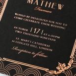 Luxe Victorian Invite Card Design