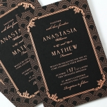 Luxe Victorian Wedding Invite