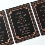 Luxe Victorian Invite Card