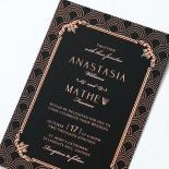 Luxe Victorian Invitation Card