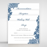 Noble Elegance Wedding Invite Card