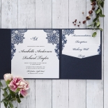 Noble Elegance Wedding Invitation