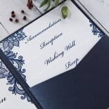Noble Elegance Wedding Invite